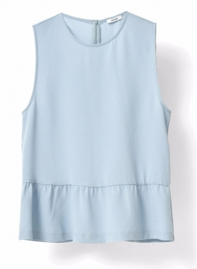 Clark Top Sterling Blue
