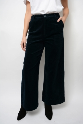 Ridgewood Wide Pants, Total Eclipse