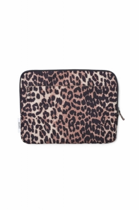 Fairmont Accessories Laptop Sleeve, Leopard