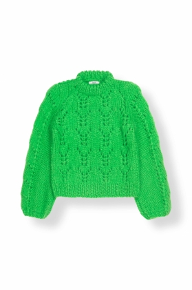 The Julliard Mohair Pullover, Classic Green