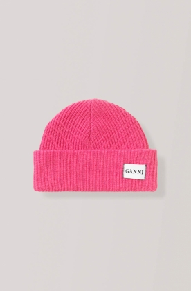 Hatley Knit Beanie, Hot Pink