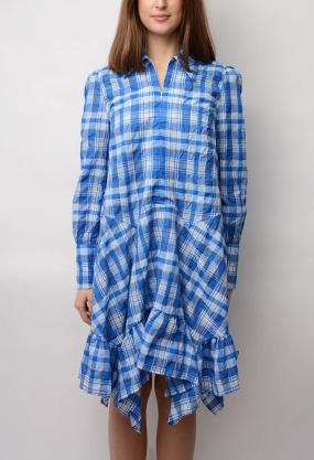 Charron Dress, Lapis Blue