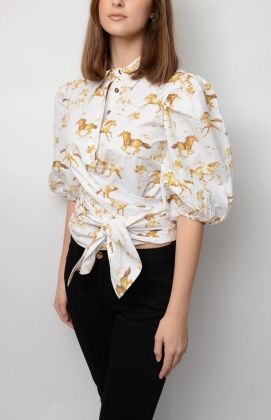 Weston Wrap Shirt, Bright White