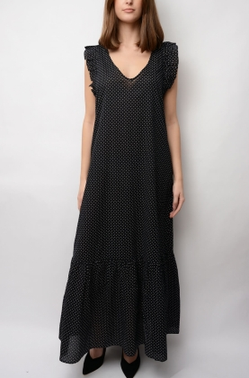 Amory Coverups Dress, Black