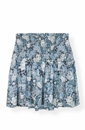 Elm Georgette Skirt, Heather