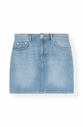 Camfield Skirt, Bleached Denim
