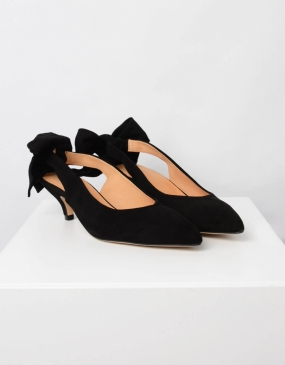 SABINE PUMPS, BLACK