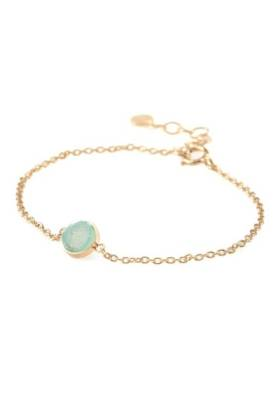 Small Blue Lagoon Bracelet Gold Plated