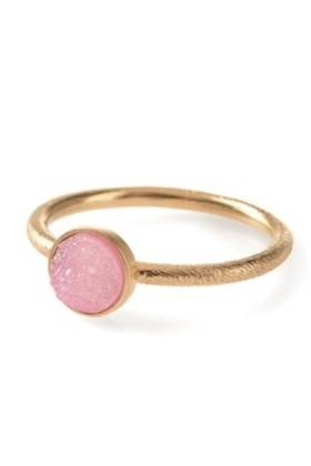 Small Geysir Ring Gold Plated