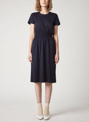 Jenna Dress Navy Blue