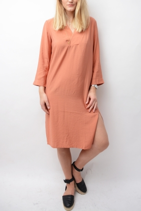 Candice Dress Terracotta