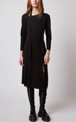 ISLA DRESS, BLACK