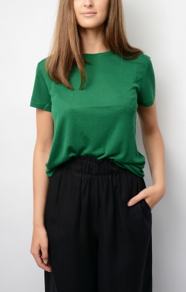 Upama T-shirt, Bright Green