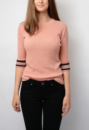 Konnie Top, Glazed Pink