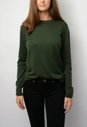 Love Merino Sweater, Utility Green