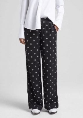 Ebba Trousers, Dot Print