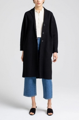 Mia Coat, Black