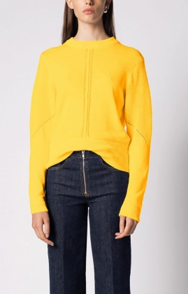 LAVINIA SWEATER, SUN YELLOW
