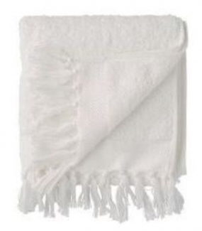 DAY FRINGE TERRY TOWEL, WHITE 50*100