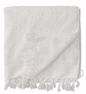 DAY FRINGE TERRY TOWEL, WHITE 70*140