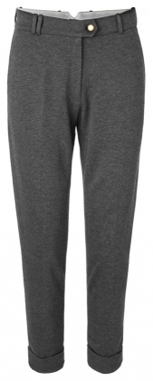 Weeks Pants Dark Grey Melange