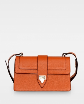 Aya Shoulder Bag, Autumn Orange
