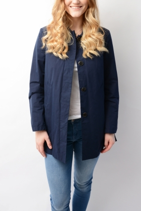 Spring Mac Coat Navy