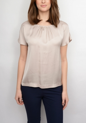Silky Blouse, Champagne