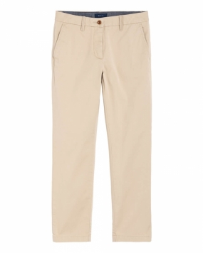 Classic Cropped Chino, Dry Sand