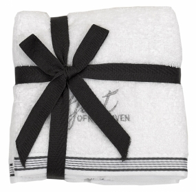 Guest Towel 2-pack White