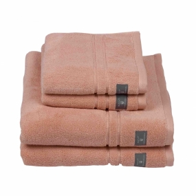 Premium Terry Towel Dusch, Coral Pink