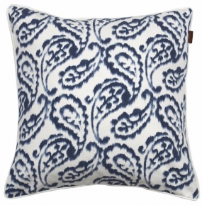 Wasco Paisley Cushion Sateen Blue