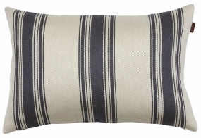 Bone Stripe Cushion Antracite