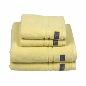 Premium Terry Towel Dusch, Pale Yellow
