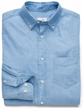 Luxury Indigo Shirt Lt Indigo