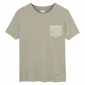 Loose Tee chest Pocket, Dried Sage