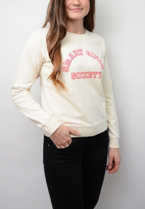 The Smart Girl Sweat, Ecru
