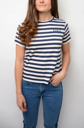 Girls tee,Ecru