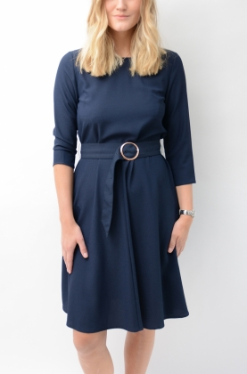 June Dress Navy Blazer