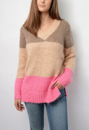 2ND Blogger Sweater, Driftwood