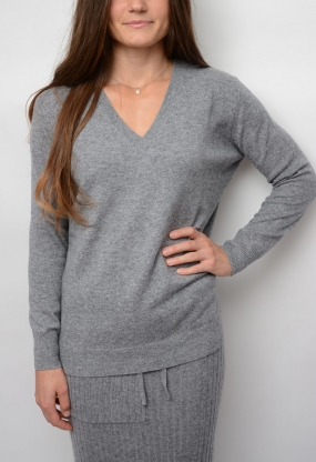 NELLY SWEATER, GREY