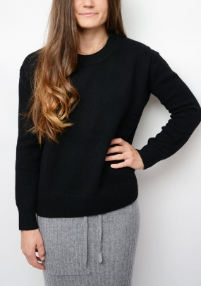 ELECTRA SWEATER, BLACK