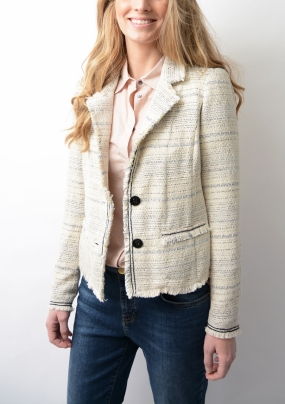 Isabel Jacket Ecru