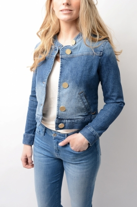 Rae Denim Jacket Blue Denim