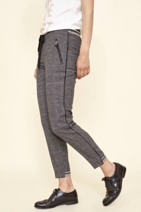 Levon Holly Pant, Grey Check