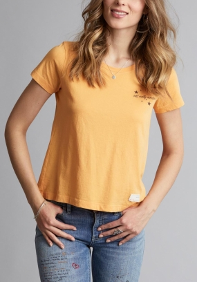 GRAPHICTUDE T-SHIRT, WARM YELLOW