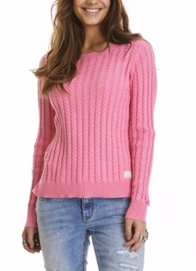 RIBBEY SWEATER, PINK