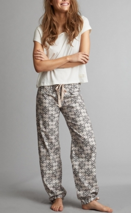 Sleepy Molly Pyjamas Set, Light Chalk