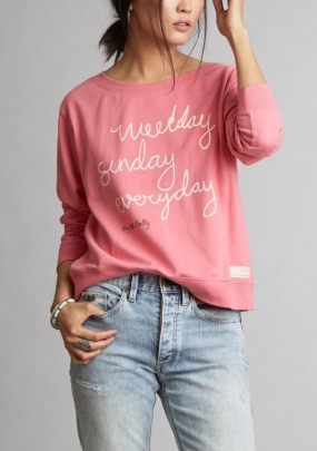 Pleasant Sweater, Happy Pink