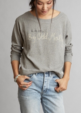 Pleasant Sweater, Light Grey Melange